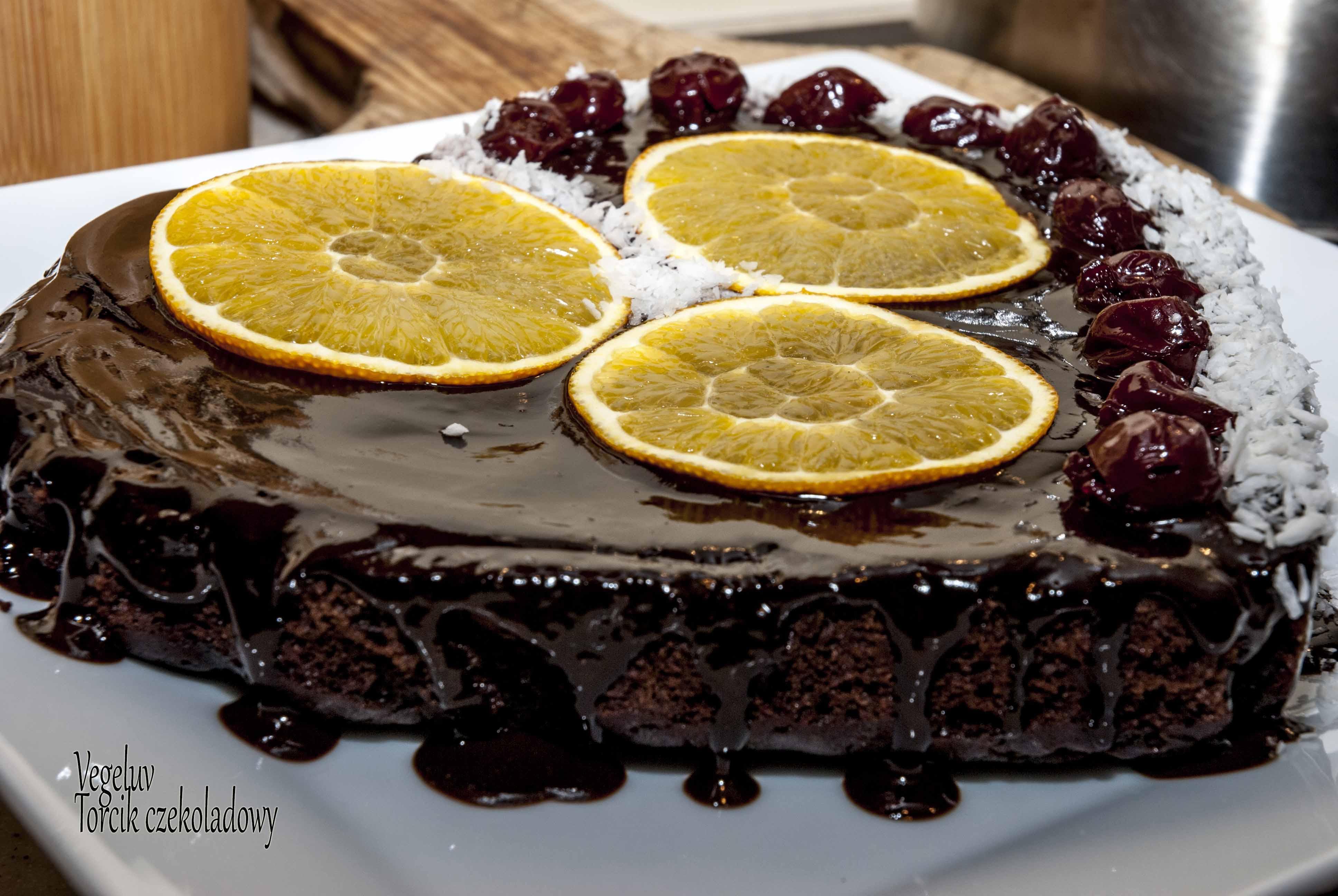 Vegeluv Tort Czekoladowy Wegański