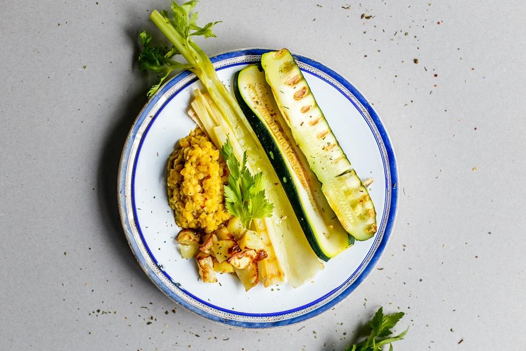 Vegeluv Wegański obiad Grill2
